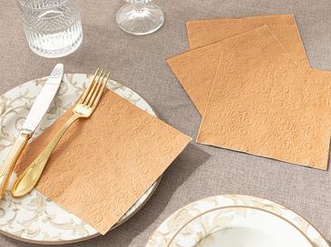 Allegro Kağıt 20'li Kağıt Peçete 33x33 Cm Rose Gold