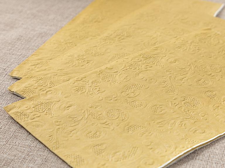 Allegro Kağıt 20'li Kağıt Peçete 33x40 Gold