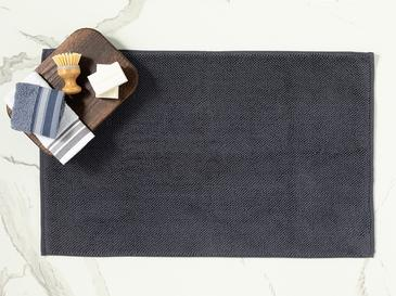 Vanity Pirinç Ayak Havlusu 50x70 Cm Antrasit