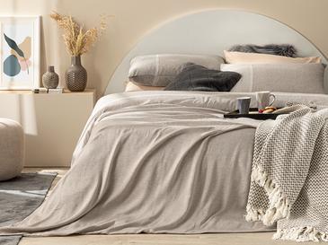 Splendid Soft & Shine Tek Kişilik Nevresim Takımı 160x220 Cm Bronz