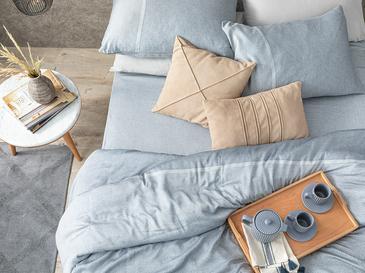 Splendid Soft & Shine Çift Kişilik Nevresim Takımı 200x220 Cm Lacivert