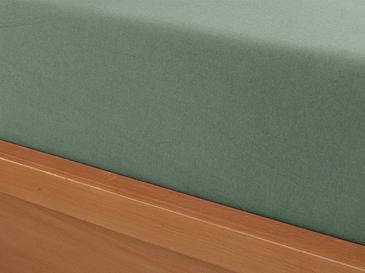 Düz Penye Tek Kişilik Lastikli Çarşaf Takımı 100x200 Cm Çağla Yeşili