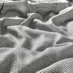 Winter Garden İpliği Boyalı Dijital Baskılı Çift Kişilik Nevresim Takımı 200x220 Cm Antrasit