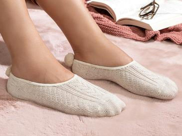 Winter Mode Pamuk Kadın Babet Çorap 36-40 Bej