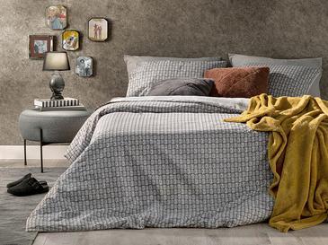 Deltoid Pamuklu Super King Nevresim Seti 260x220 Cm Gri