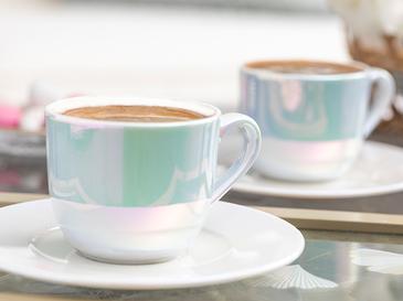 Fora Porselen 2'li Kahve Fincan Takımı 100 Ml Sedef