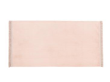 Thick Ribbed Fitilli Halı 120x180 Cm Pudra